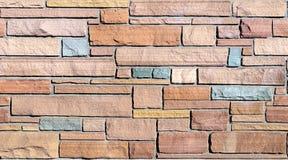 Nahtloser Steinplatte-Wand-Hintergrund Stockbilder
