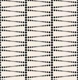 Nahtloser strukturierter Kreis punktiert Tapetenmuster stock abbildung