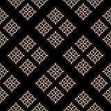 Nahtloser Textilmuster-Hintergrund Lizenzfreie Stockfotografie