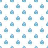 Nahtloser Vektor des magischen Sterntaschen-Musters lizenzfreie abbildung