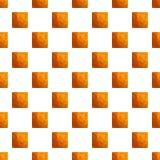 Nahtloser Vektor des quadratischen Sprungskeks-Musters lizenzfreie abbildung