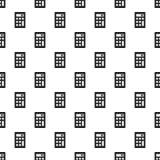 Nahtloser Vektor des Wissenschaftstaschenrechner-Musters lizenzfreie abbildung
