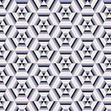 Nahtloser Vektor geometrisch stock abbildung