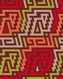 Nahtloser Vektor-Stammes- Muster für Textildesign Lizenzfreies Stockbild