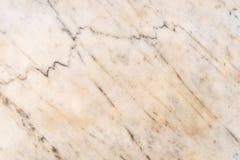 Nahtloser weicher beige Marmorhintergrund Stockbild