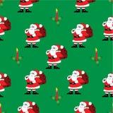 Nahtloser Weihnachtshintergrund Lizenzfreie Stockfotografie