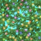Nahtloser Weihnachtshintergrund lizenzfreie abbildung