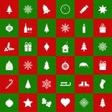 Nahtloser Weihnachtshintergrund, Illustration Stockbilder