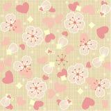 Nahtloser (wiederholbarer) Blumentulle-Hintergrund Stockbilder