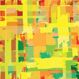 Nahtloser wiederholender gestreifter farbiger Hintergrund von Farben Stockfotografie