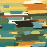 Nahtloser wiederholender gestreifter farbiger Hintergrund von Farben Stockfoto