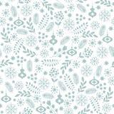 Nahtloser Winter-Hintergrund Stockfotografie