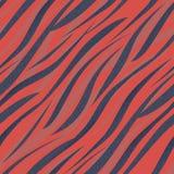 Nahtloser Zebrahaut-Musterhintergrund Lizenzfreie Stockfotos