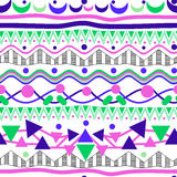 Nahtloses abstrac Muster Stockfoto