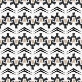 Nahtloses abstraktes Beschaffenheitsmuster auf weißem Hintergrund Stockbilder