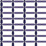 Nahtloses abstraktes blaues Muster Lizenzfreies Stockbild