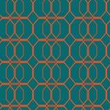 Nahtloses abstraktes blaues Muster Stockfotos