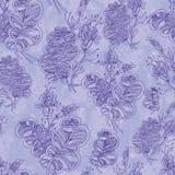 Nahtloses abstraktes Blumenmuster Stockfotos