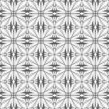 Nahtloses abstraktes Blumenmuster in der orientalischen Art lizenzfreies stockbild