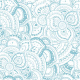 Nahtloses abstraktes Blumensommerthemamuster Stockfoto
