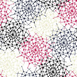 Nahtloses abstraktes Dekormuster Stockbilder