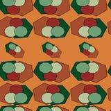 Nahtloses abstraktes Farbenmuster Stockfotos