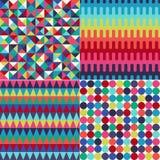 Nahtloses abstraktes geometrisches Muster Stockbild