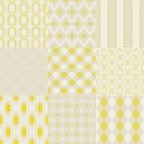 Nahtloses abstraktes geometrisches Muster Lizenzfreies Stockfoto