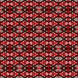 Nahtloses abstraktes geometrisches Muster Lizenzfreie Stockfotos