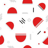 Nahtloses abstraktes geometrisches Muster vektor abbildung