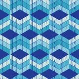 Nahtloses abstraktes geometrisches Muster Die Beschaffenheit des Zickzacks brushwork Handausbrüten Stockbilder