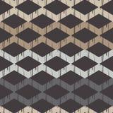 Nahtloses abstraktes geometrisches Muster Die Beschaffenheit des Zickzacks brushwork Handausbrüten Stockfotos