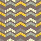 Nahtloses abstraktes geometrisches Muster Die Beschaffenheit des Zickzacks brushwork Handausbrüten Stockfotografie
