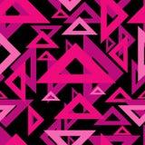 Nahtloses abstraktes geometrisches Muster Kann für Hintergrund verwendet werden Kann für Tapete, Linoleum, Gewebe, Einladungskart Stock Abbildung