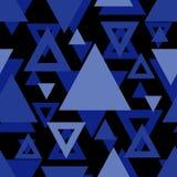 Nahtloses abstraktes geometrisches Muster Kann für Hintergrund verwendet werden Kann für Tapete, Linoleum, Gewebe, Einladungskart Lizenzfreie Abbildung