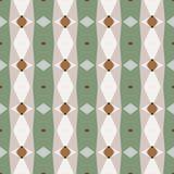 Nahtloses abstraktes geometrisches Muster mit Streifen Lizenzfreie Stockfotografie