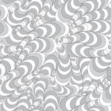 Nahtloses abstraktes gewelltes Profil stock abbildung