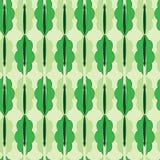 Nahtloses abstraktes grünes Muster Stockbilder