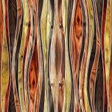 Nahtloses abstraktes hölzernes Muster stockbilder