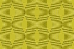 Nahtloses, abstraktes Hintergrundmuster gemacht mit curvy dünnen Linien vektor abbildung