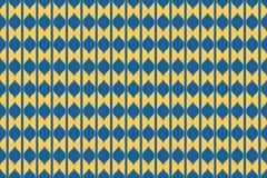 Nahtloses, abstraktes Hintergrundmuster gemacht mit curvy geometrischen Formen vektor abbildung