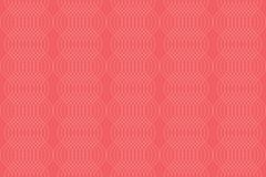 Nahtloses, abstraktes Hintergrundmuster gemacht mit den dünnen, curvy Linien lizenzfreie abbildung