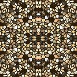 Nahtloses abstraktes Mosaikmuster Lizenzfreie Stockbilder