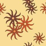 Nahtloses abstraktes Muster. Stockbilder