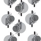 Nahtloses abstraktes Muster stock abbildung