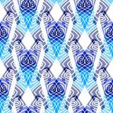 Nahtloses abstraktes Muster Stockfotografie