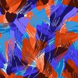 Nahtloses abstraktes Muster Auch im corel abgehobenen Betrag ENV 10 stock abbildung
