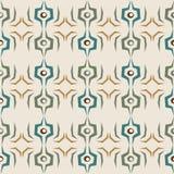 Nahtloses abstraktes Muster auf weißem Hintergrund Stockbilder