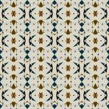 Nahtloses abstraktes Muster in der ethnischen Art Stockbilder