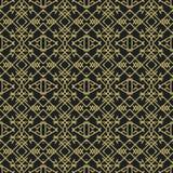 Nahtloses abstraktes Muster in der ethnischen Art Stockbild